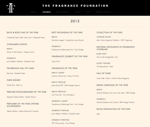 FIFI AWARDS – The Fragrance Foundation: USA